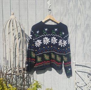 Boho Vintage Inspired Super Soft Cotton Sweater